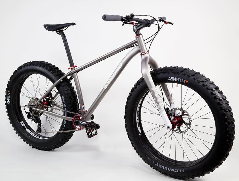 Strong Titanium Fat Bike-NAHBS 2016