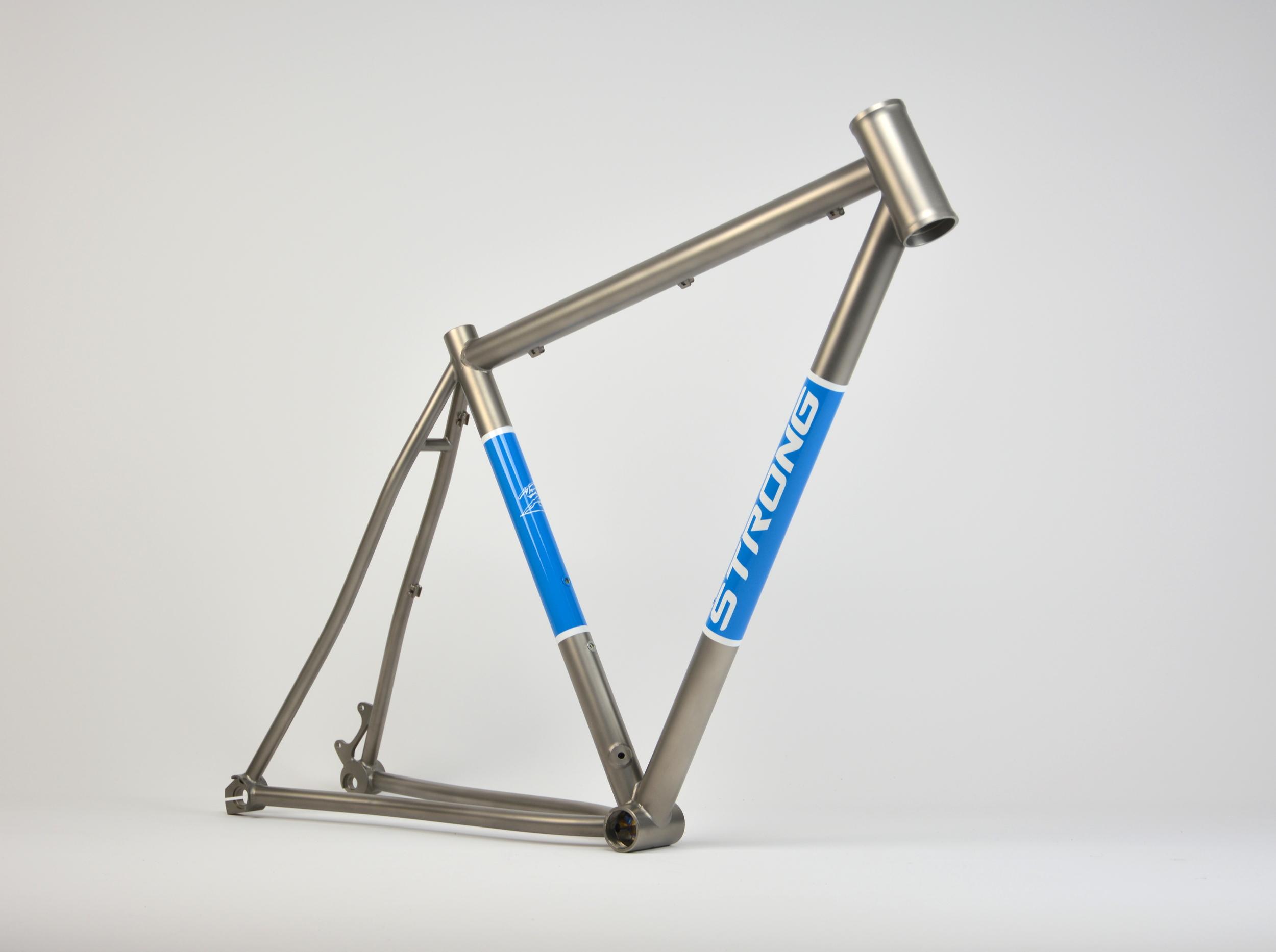 Strong Frames Titanium Road w/Panels