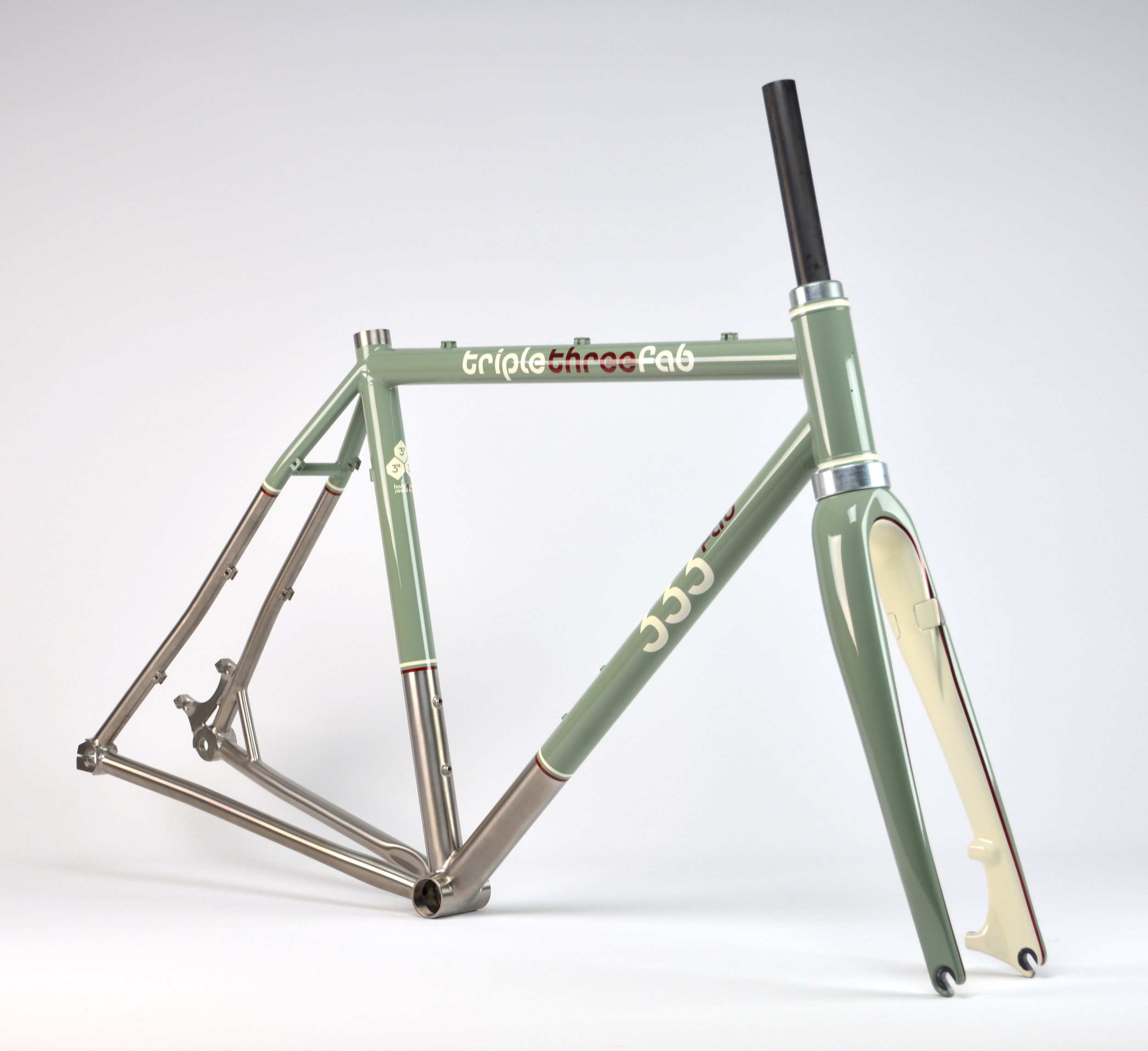 333 Fabrication Titanium CX