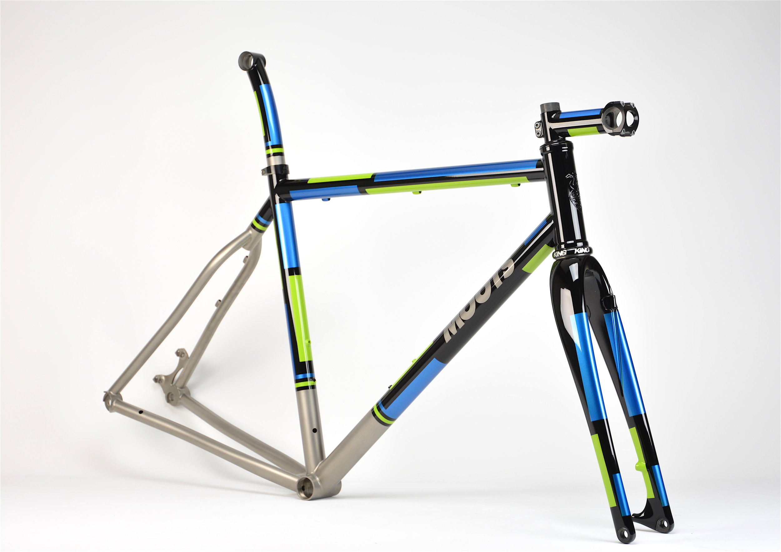 Custom Painted Moots Cycles