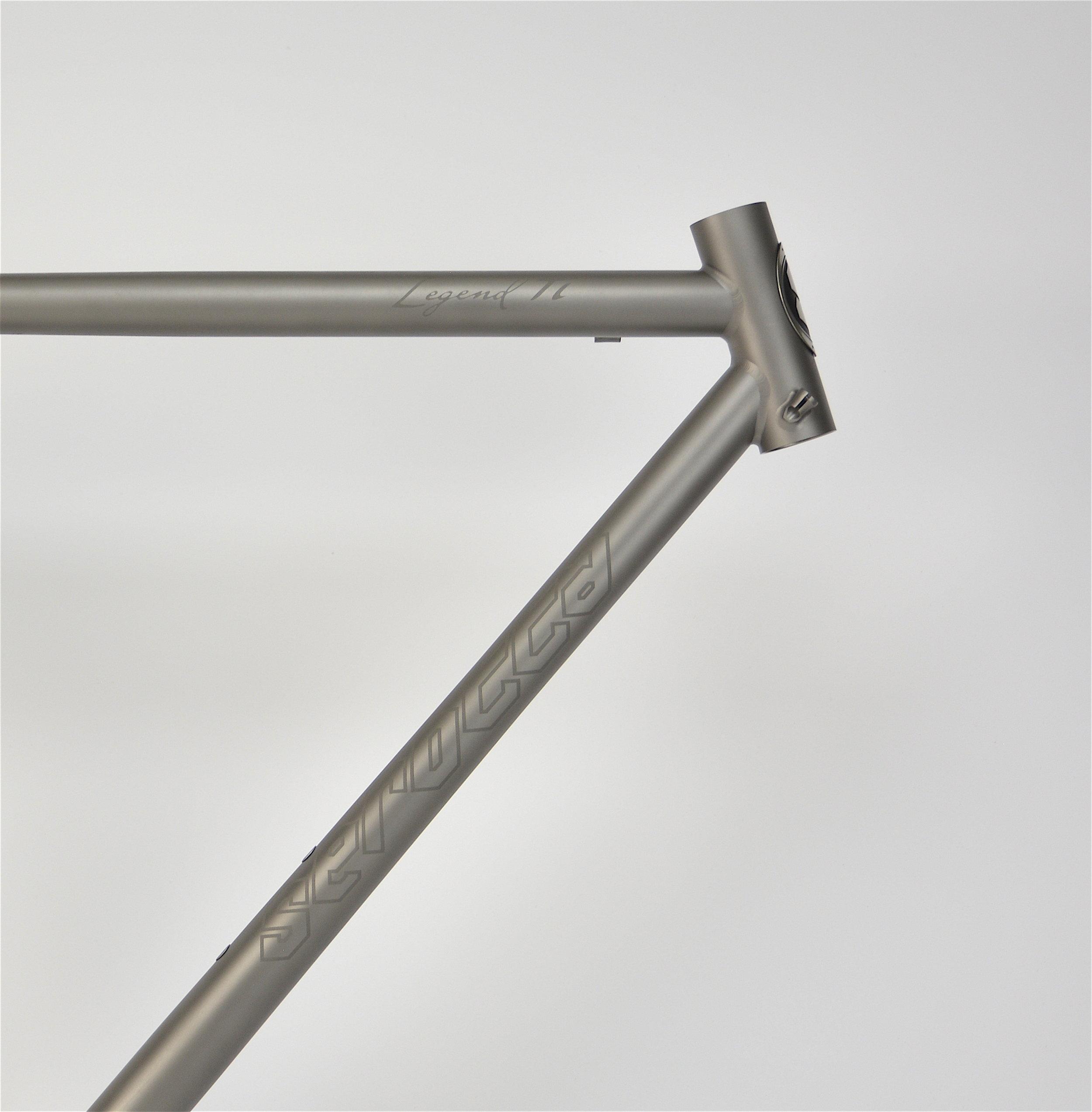 Titanium Etching and Refinishing