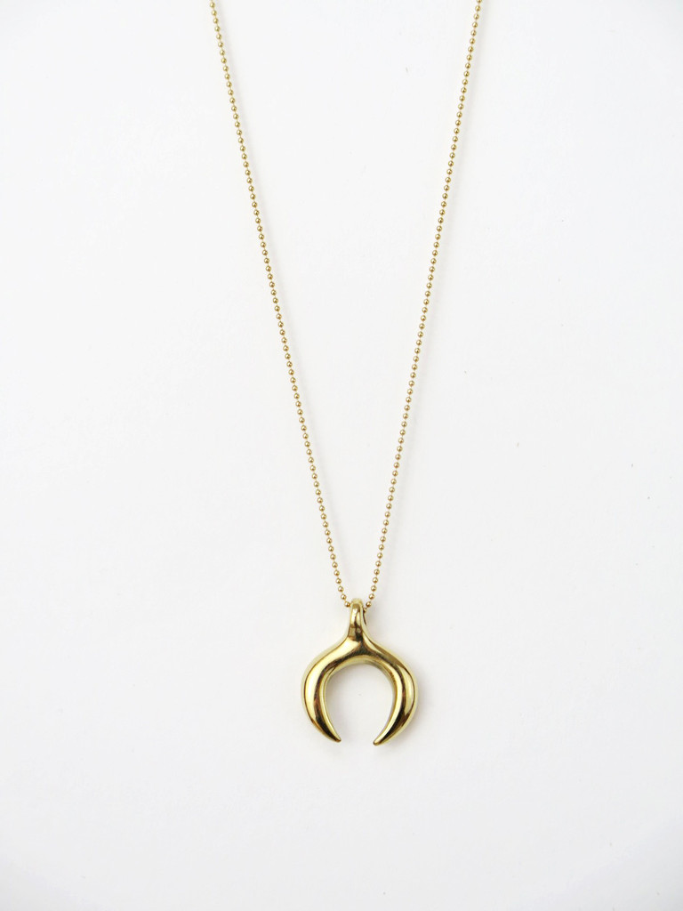 Open Circle Pendant  ,  Mikuti , $92.00