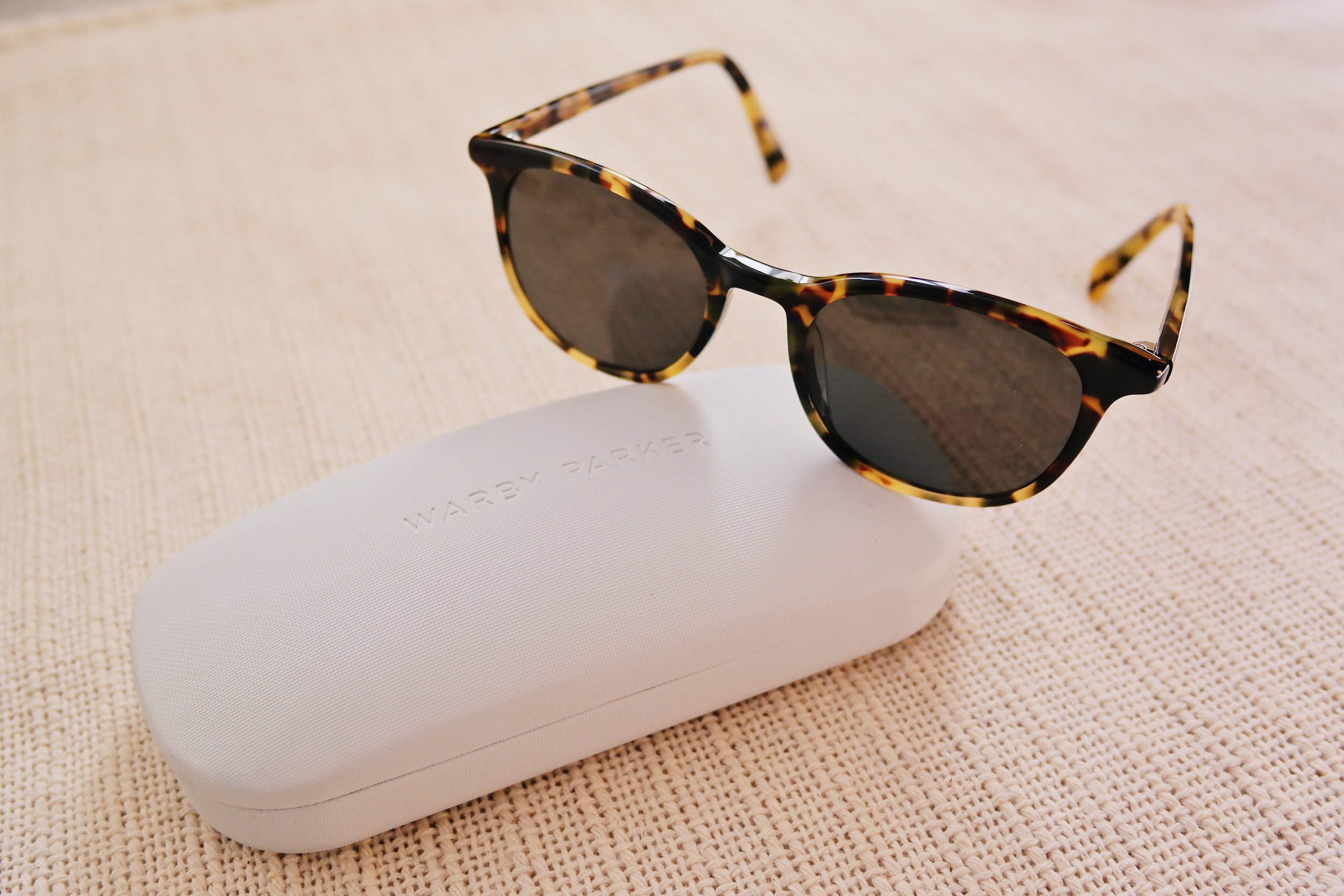 Durand Sunglasses in Woodland Tortoise , Warby Parker, $95.00