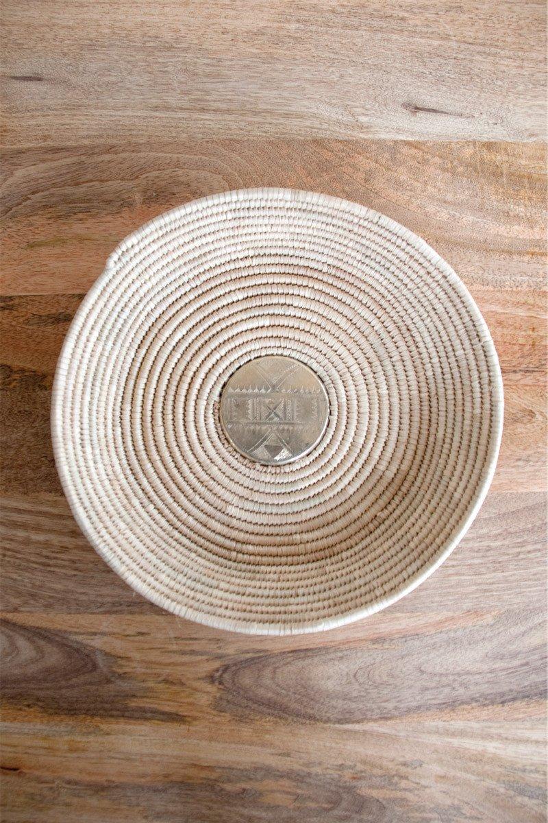 Toureg Medallion Basket , Zeal Living, $74.95