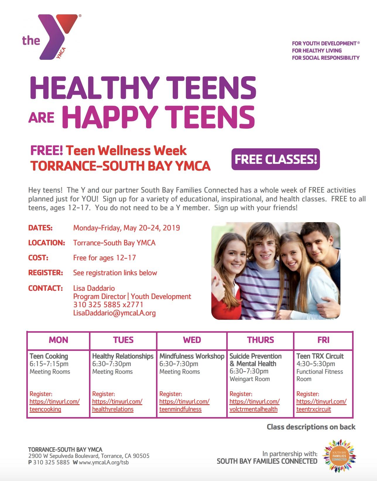 Torrance-South+Bay+YMCA+Healthy+Teens+are+Happy+Teens