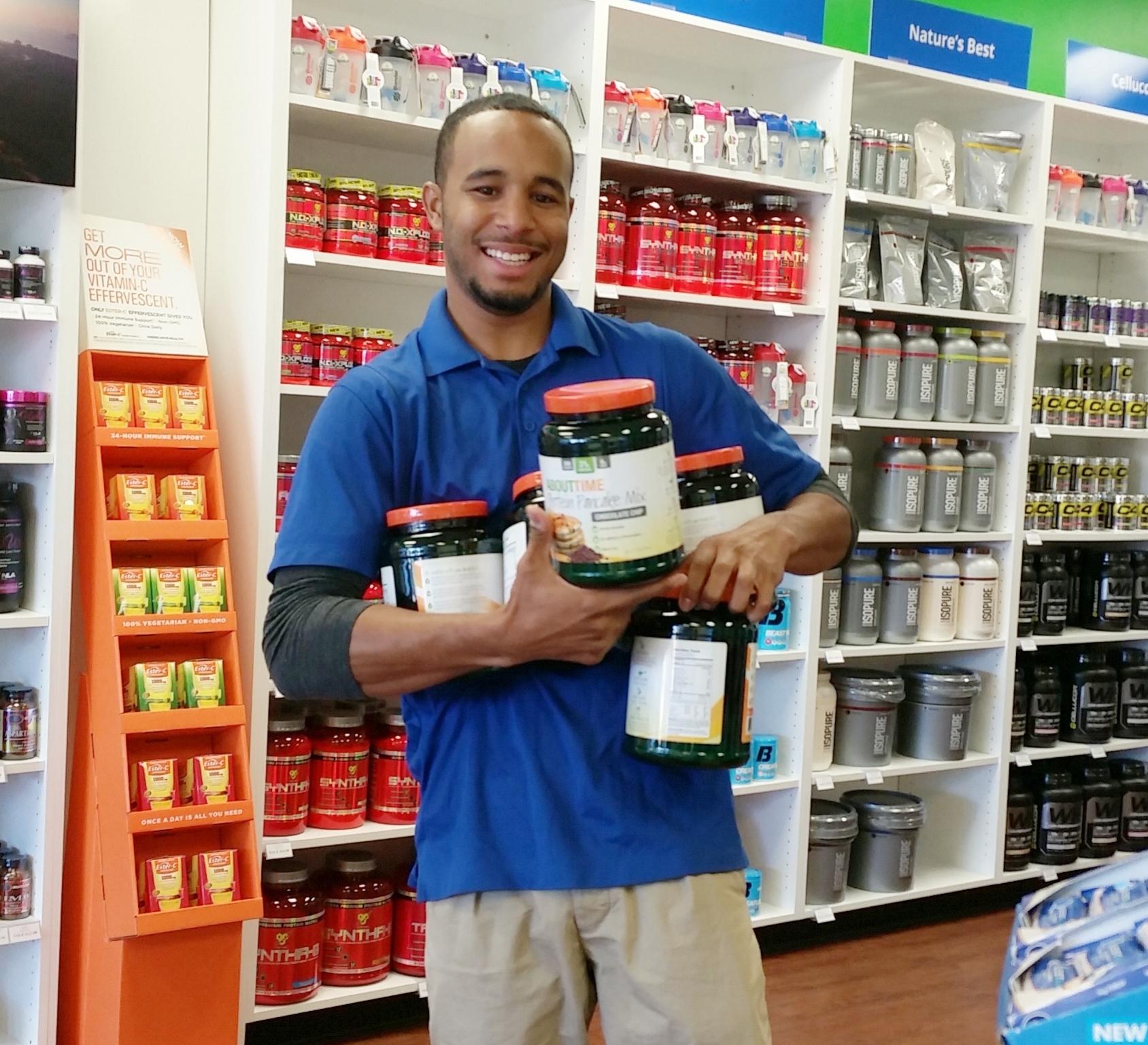 Tony with product.jpg