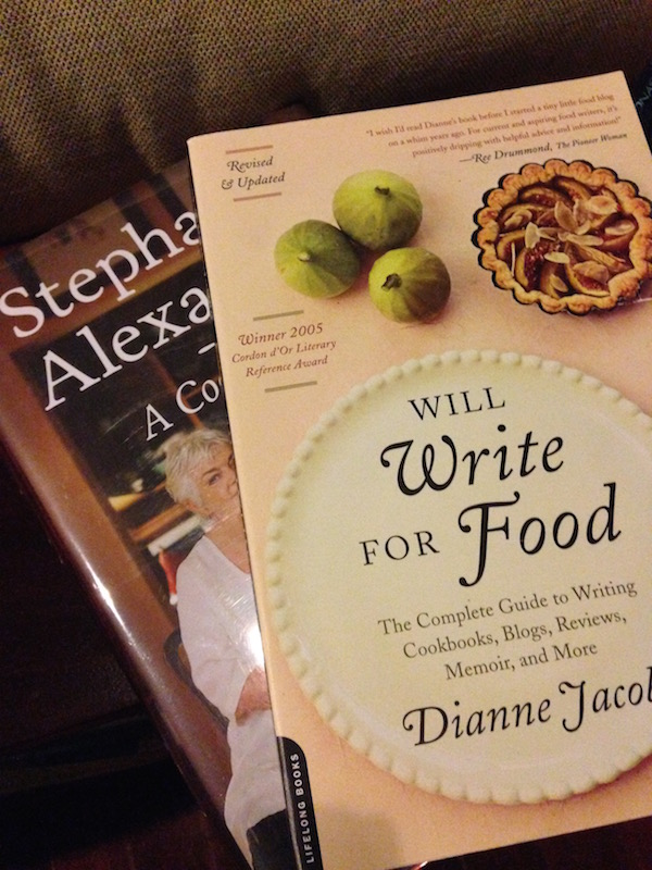 A couple of foodie books that I like to flick through but have yet to read cover to cover. I love autobiographies (providing their interesting people!) and I also love very practical non-fiction.
