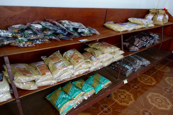 The different varieties of plain and sticky rice