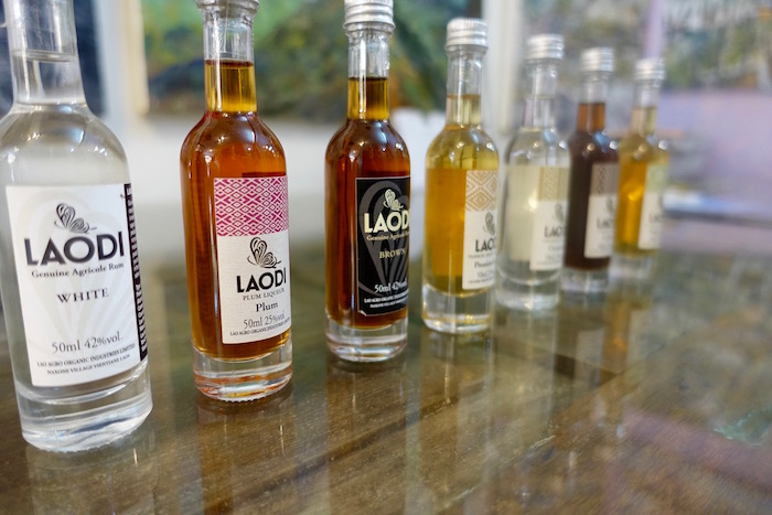 Laodi rum is available in 700ml and 50ml bottles - great for the traveller