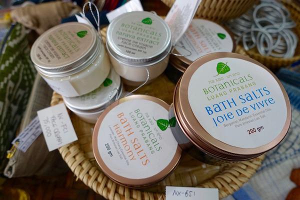 Natural skin products from small Luang Prabang producer, Naxao Botanicals
