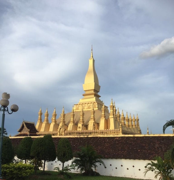 That Luang - the symbol of Lao Buddhism and Vientiane