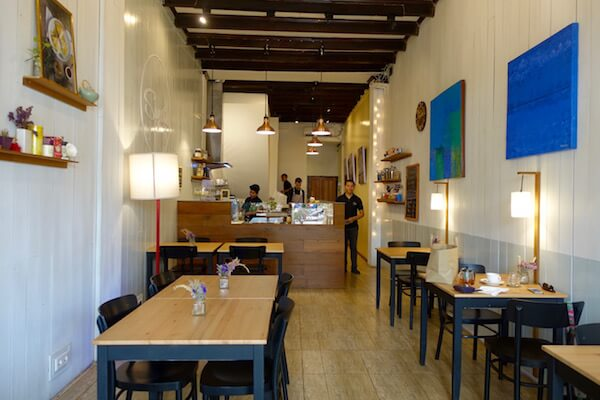 It's Vientiane's first (and only) French cr ê perie, Suzette | © Eat Drink Laos https://eatdrinklaos.com/blog/vientiane-suzette-creperie