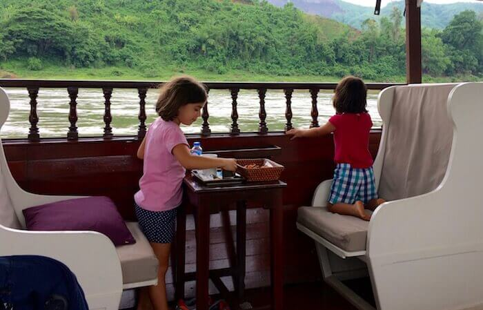 See the real Laos, beautiful and serene aboard the Luang Say Cruise on the Mekong River - - Northern Laos: Mekong River Cruise © Eat Drink Laos https://eatdrinklaos.com/blog/northern-laos-mekong-river-cruise