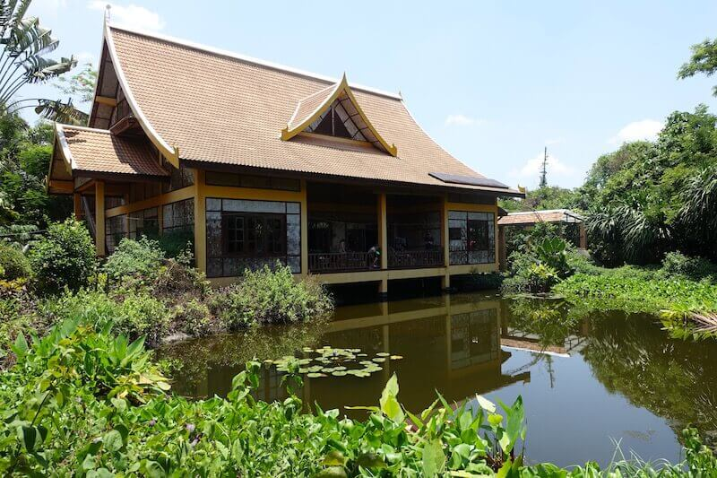 The Jungle House is an all-inclusive, boutique, family-run B&B in Vientiane, Laos. Image © Eat Drink Laos 2018 https://eatdrinklaos.com/blog/vientiane-the-jungle-house