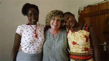 Auntie, Carol and Debra
