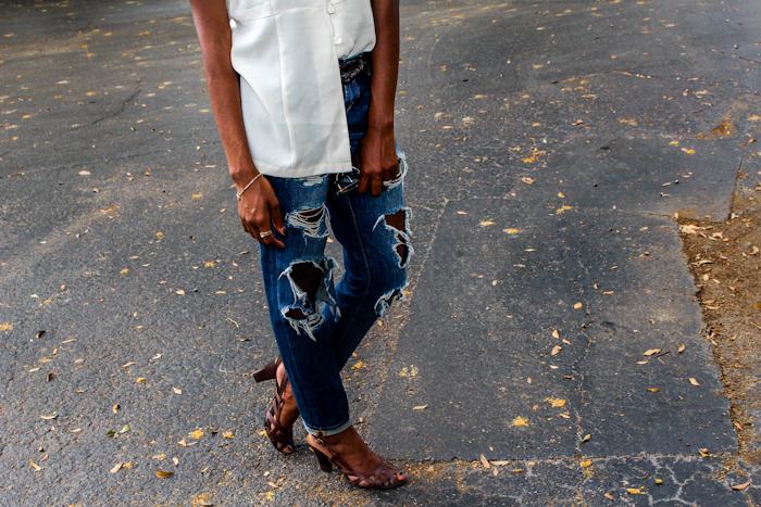 Top  Thrifted  Denim  Marshalls  Shoes  Tahari Vintage