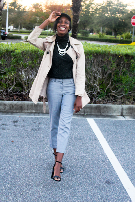Top & Pants: Thrifted Shoes: Nordstrom Rack Jacket: Forever21