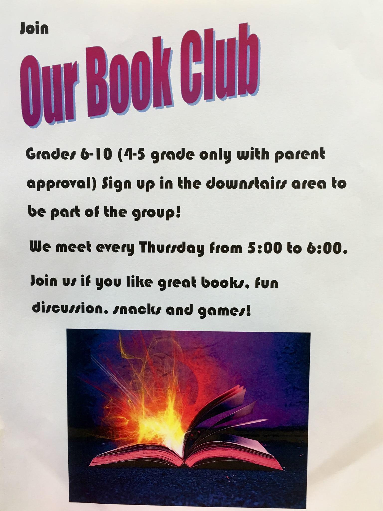 Hartford City Library Book Club