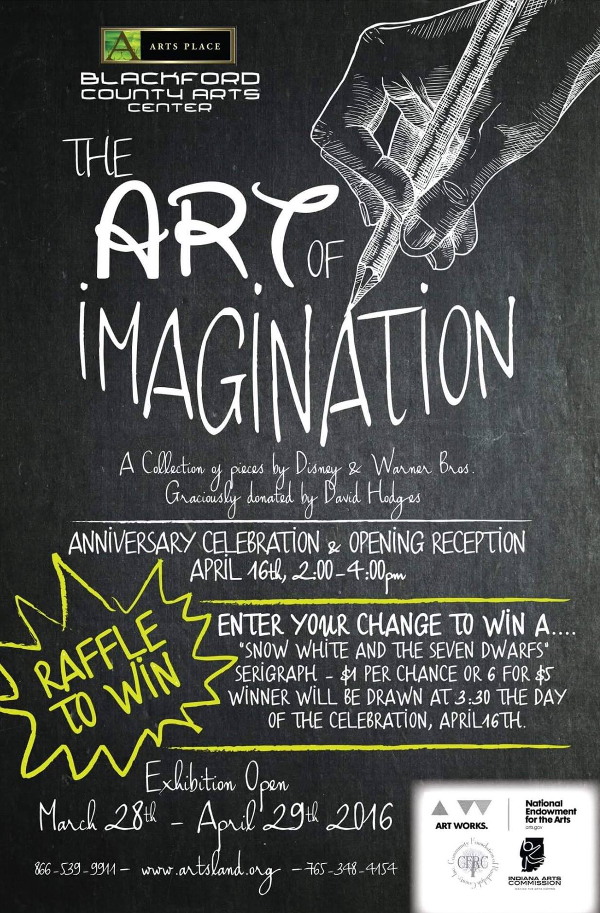 The Art of Imagination Poster