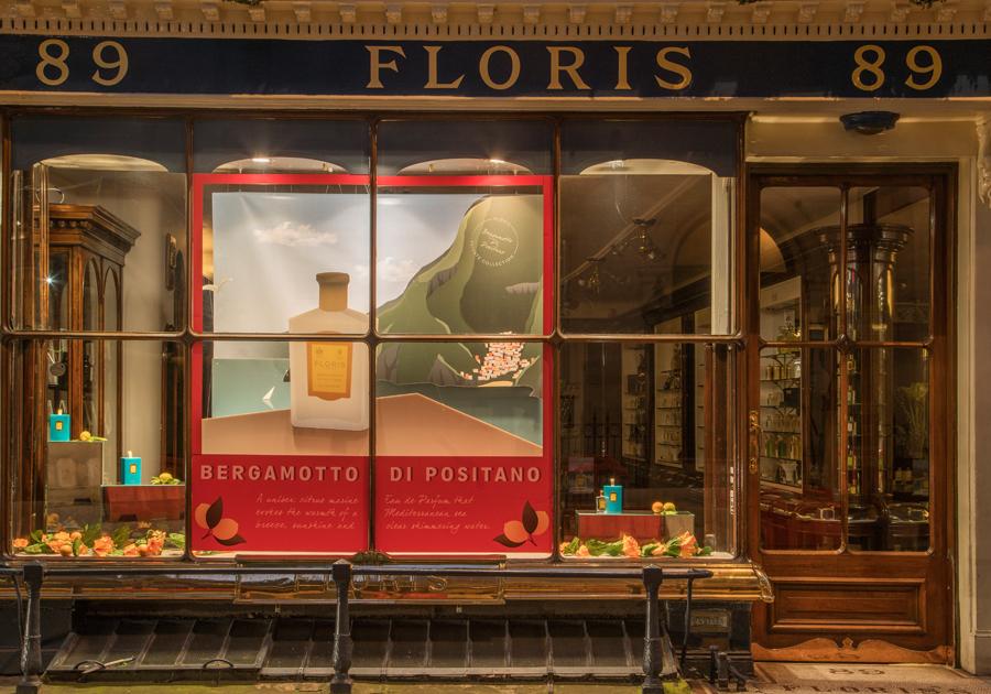 Floris | Bergamotto Di Positano window