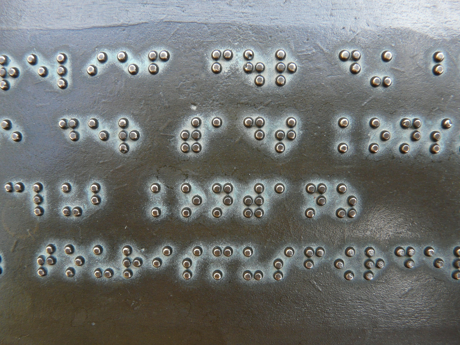 Image of Braille