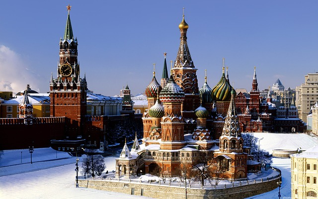 Moscow is so beautiful.