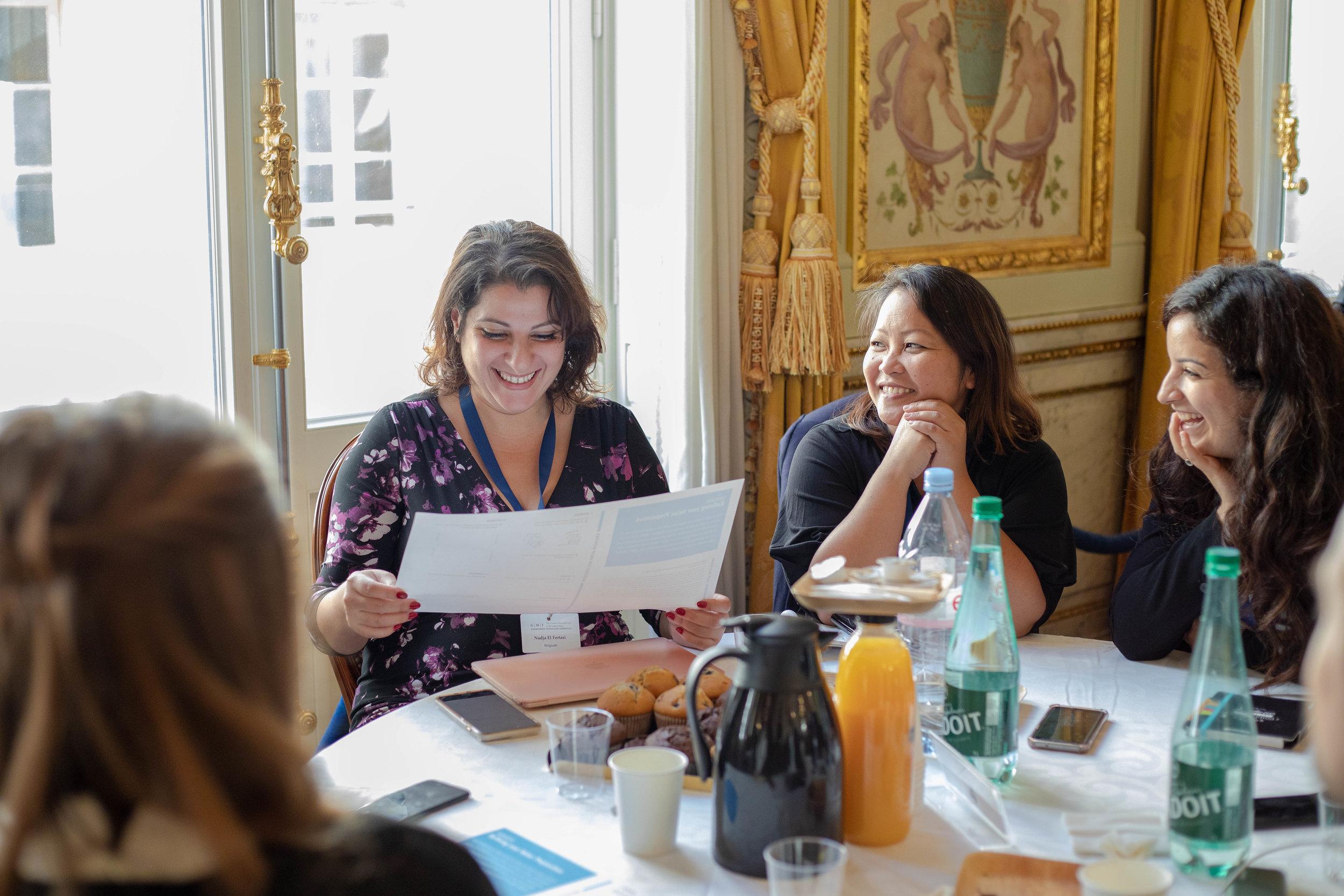 Inclusive leadership workshop participants in Paris.jpg