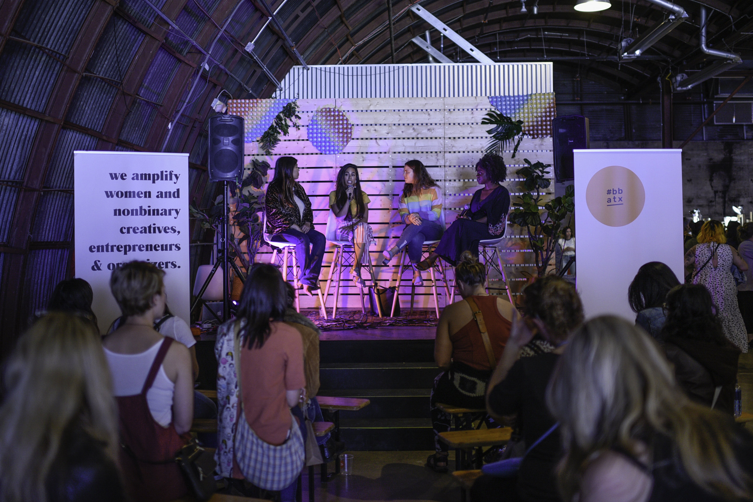 On Hobby Or Hustle panel at craftHER Market Spring '19. Photo by Maya Coplin