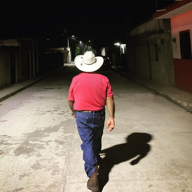 It's a huge honor to get to work with dad.  We shared the Gospel with so many people this week.  And yes, he got a new sombrero today! #streetsofmexico