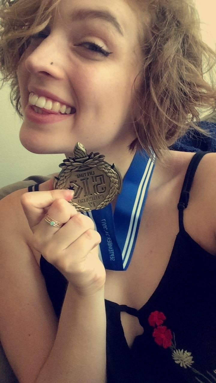 Special recognition - goes to DePaul University student,Sydney Coyle, main organizer of the Starfish Dash,who continues to dedicate time and incredible energy to keeping the Starfish Dash alive!