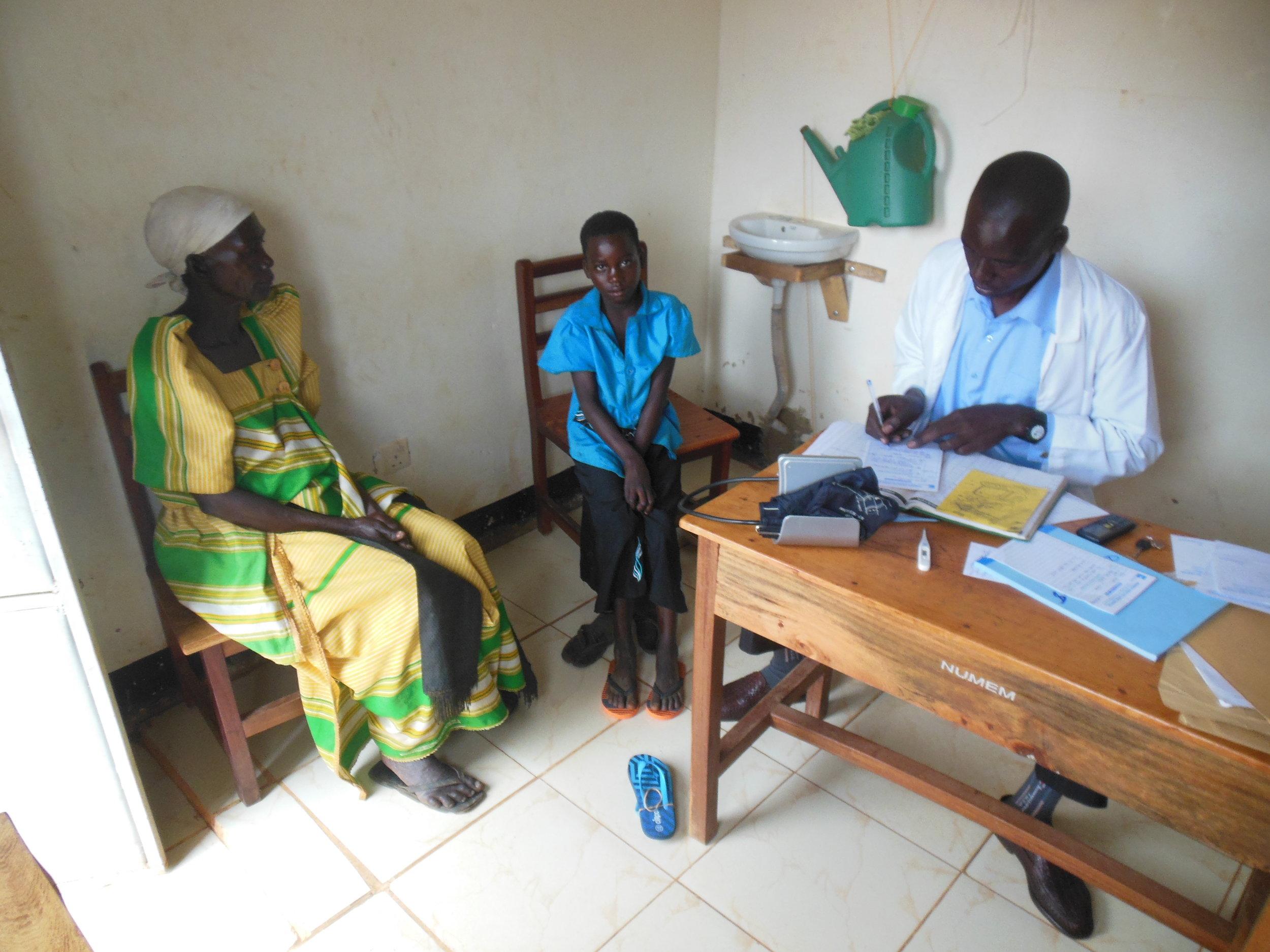 NUMEM clinic, outpatient consult