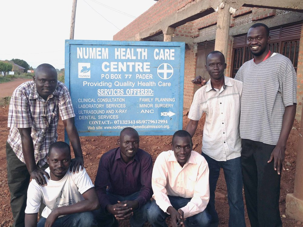 NUMEM Health Centre co-founders