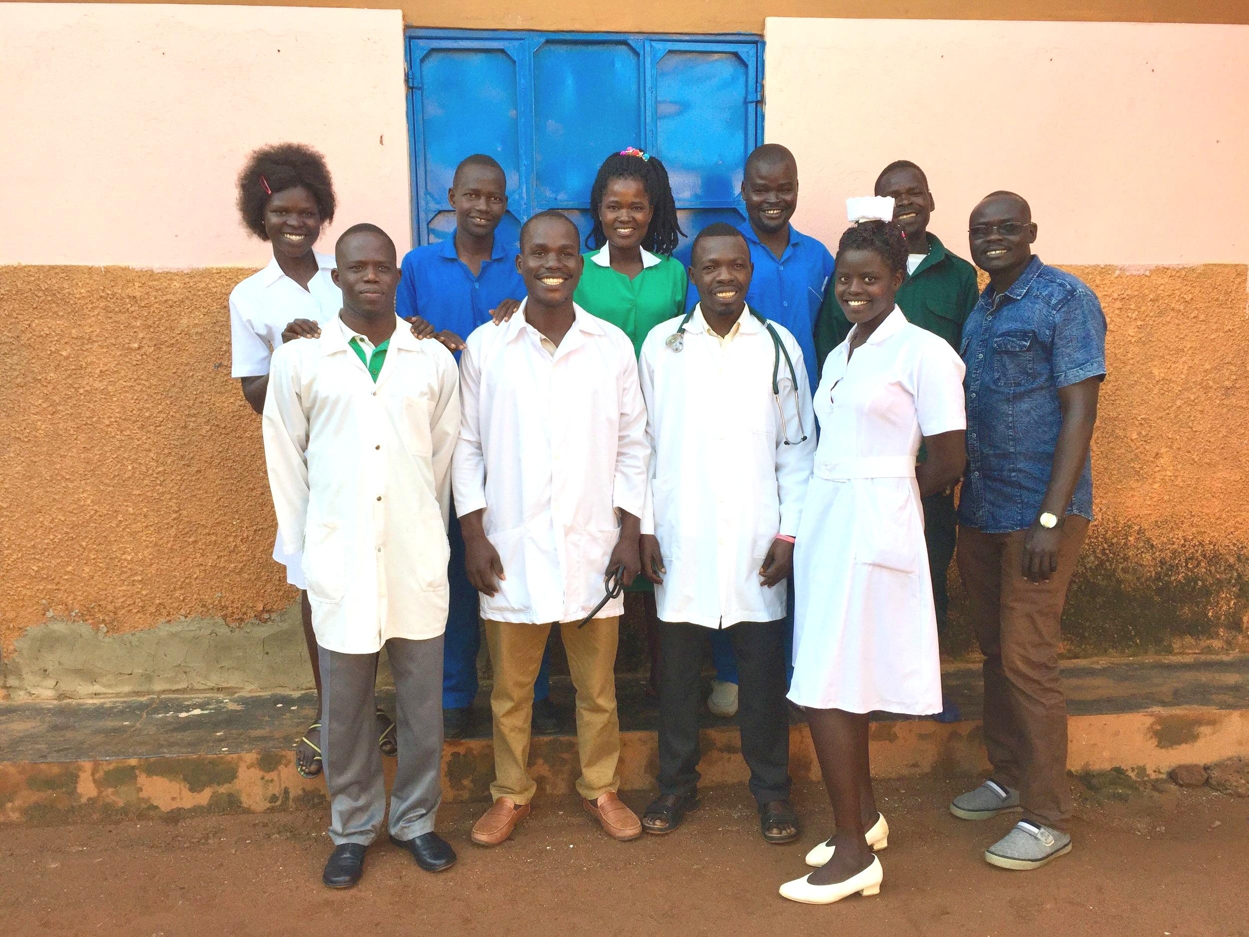 NUMEM Health Centre staff