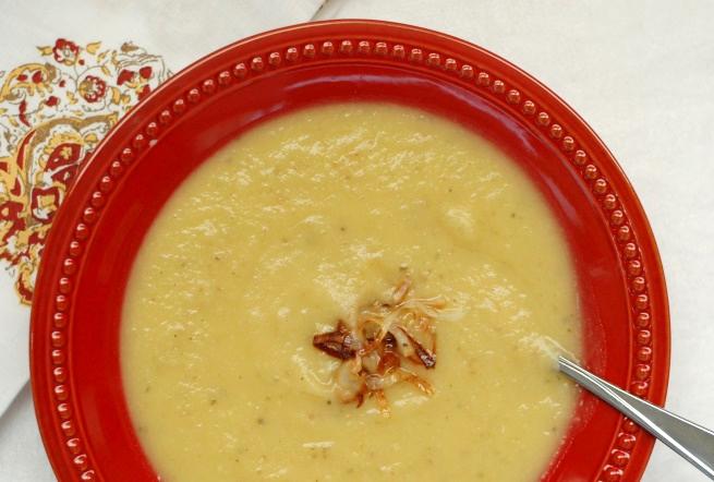 Leek, Potato & Pear Soup