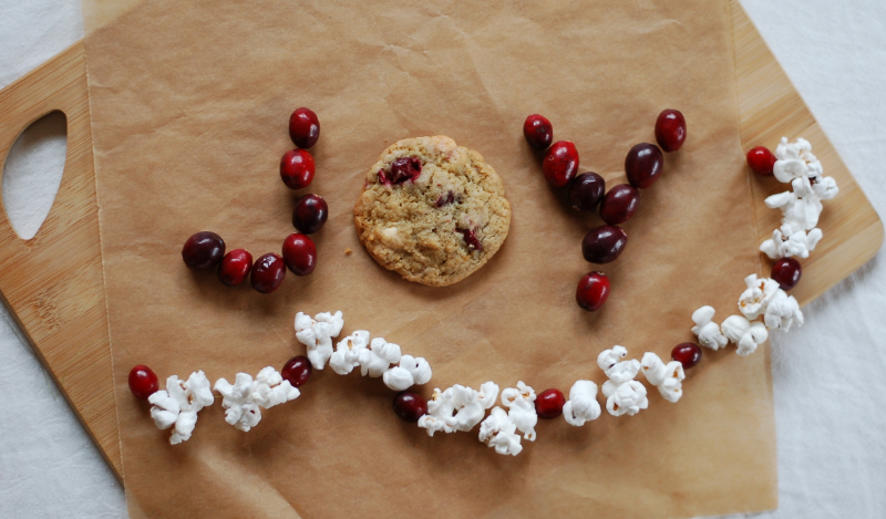 Crunchewy Cranberry Cookies