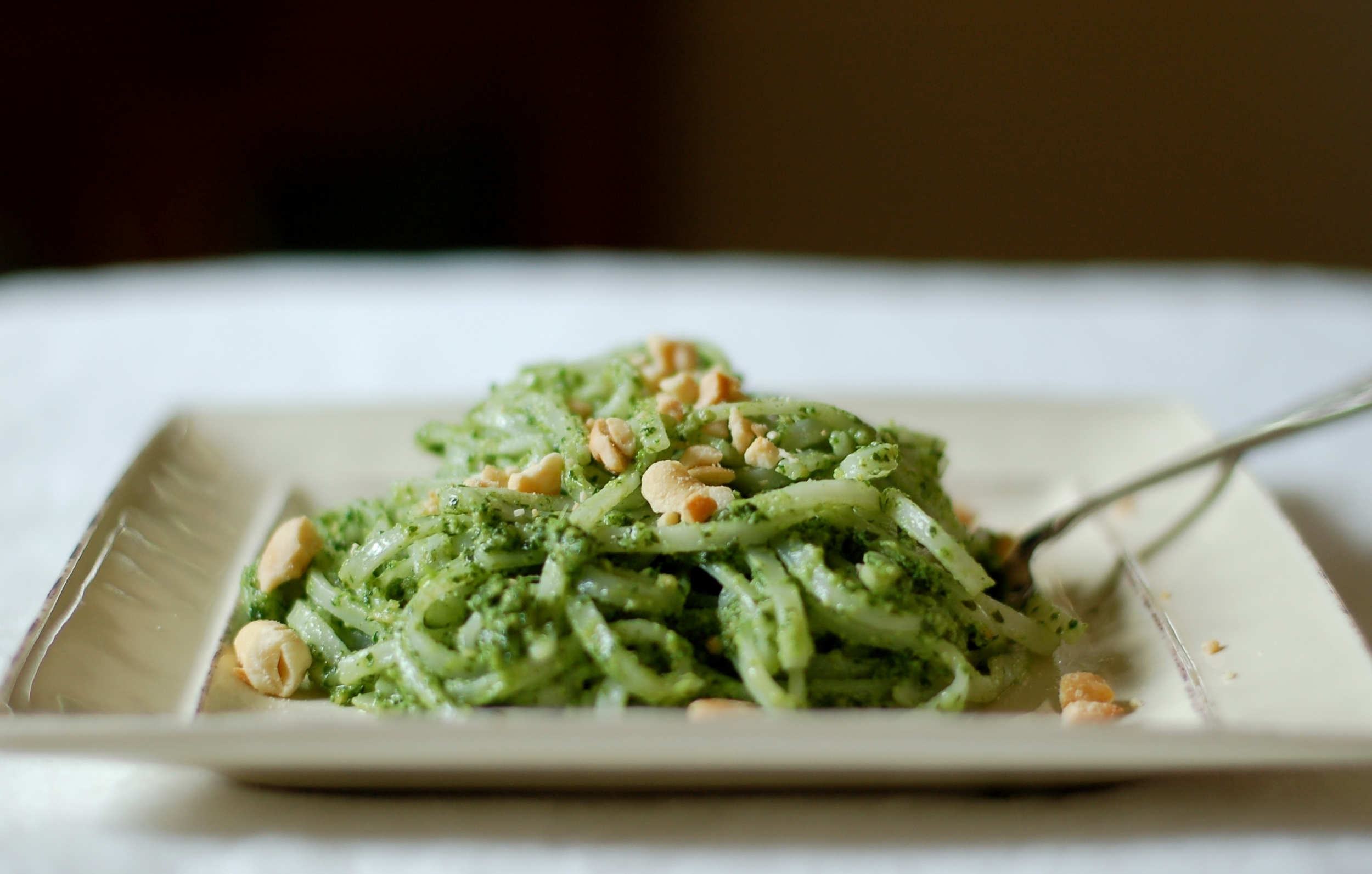 Sorrel Pesto with Cashews