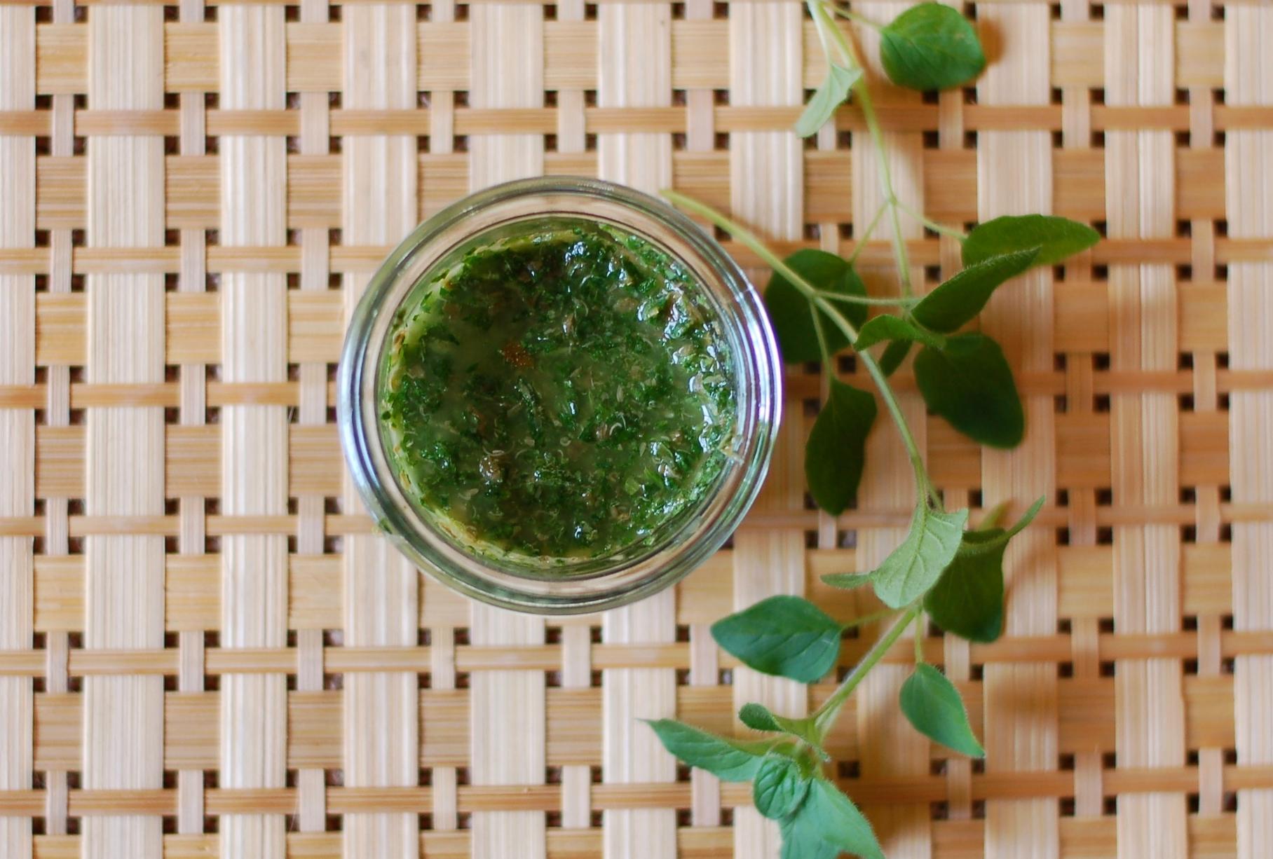 Oregano Verde Sauce