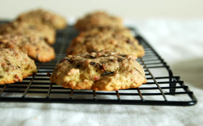 Beet Oatmeal and Chocolate Chip cookies
