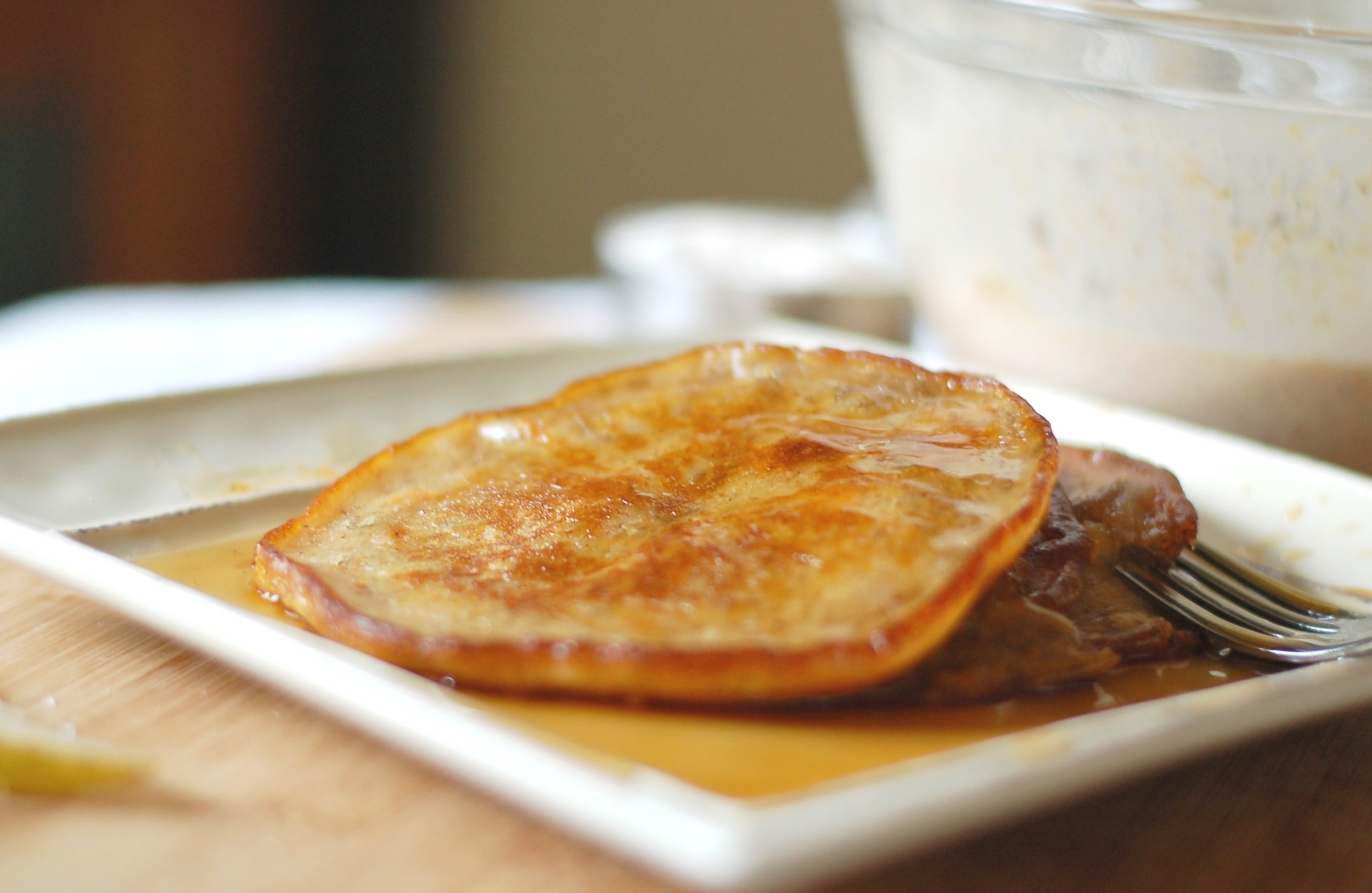 Pear and Sweet Potato Pancakes