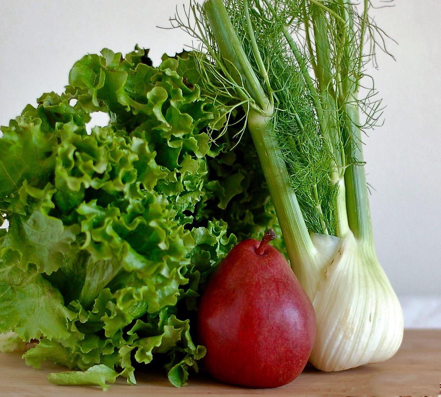 Pear & Fennel Salad
