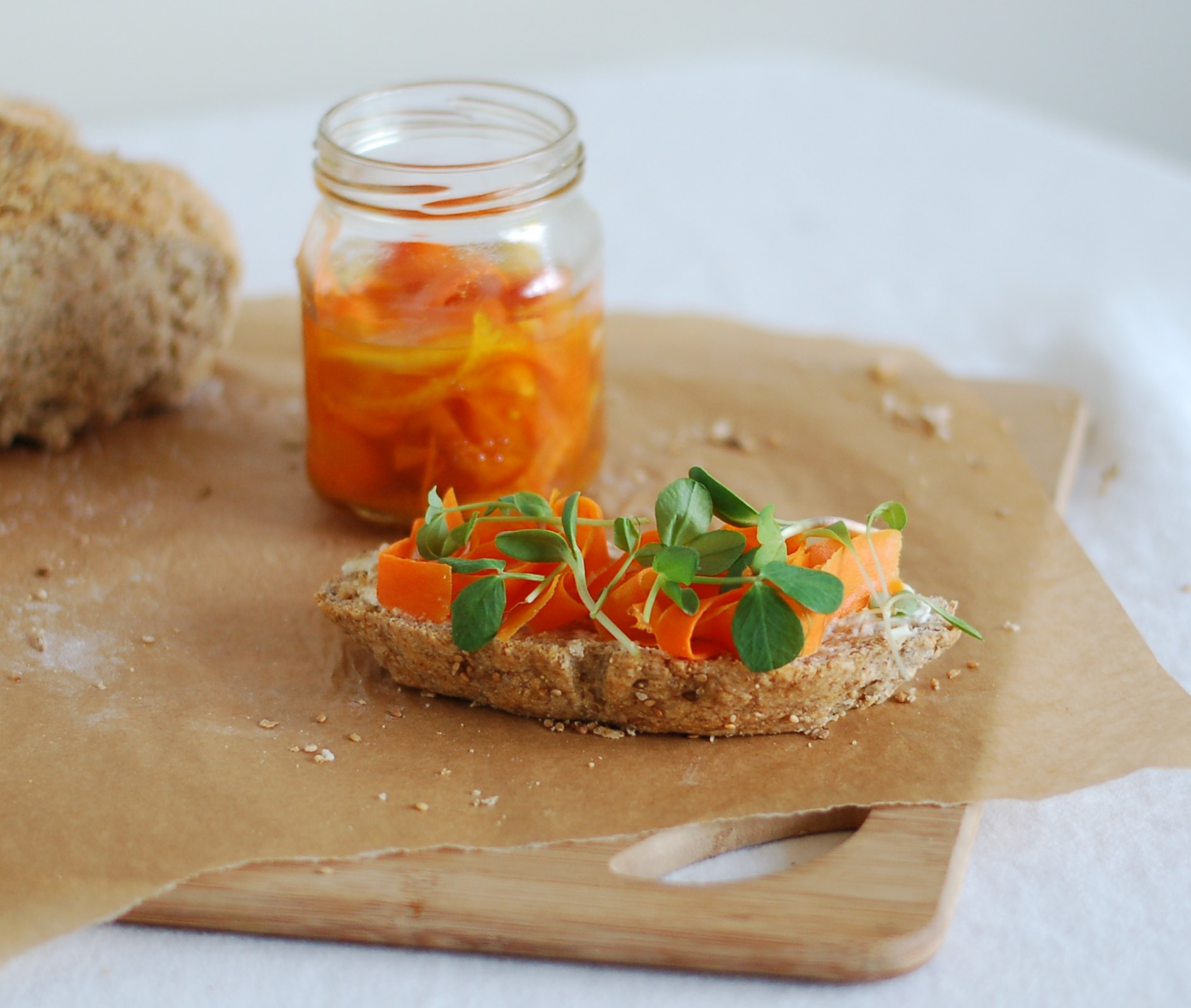 Quick Pickled Carrots