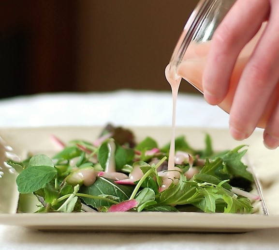 Rhubarb Salad Dressing