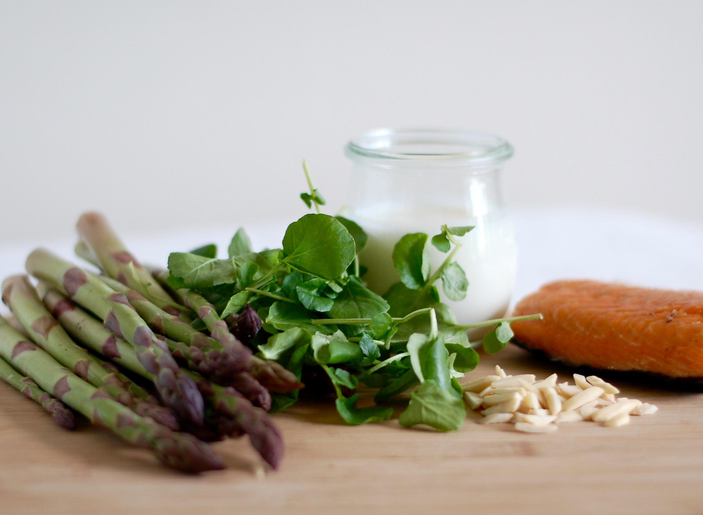 Asparagus & Smoked Salmon Salad
