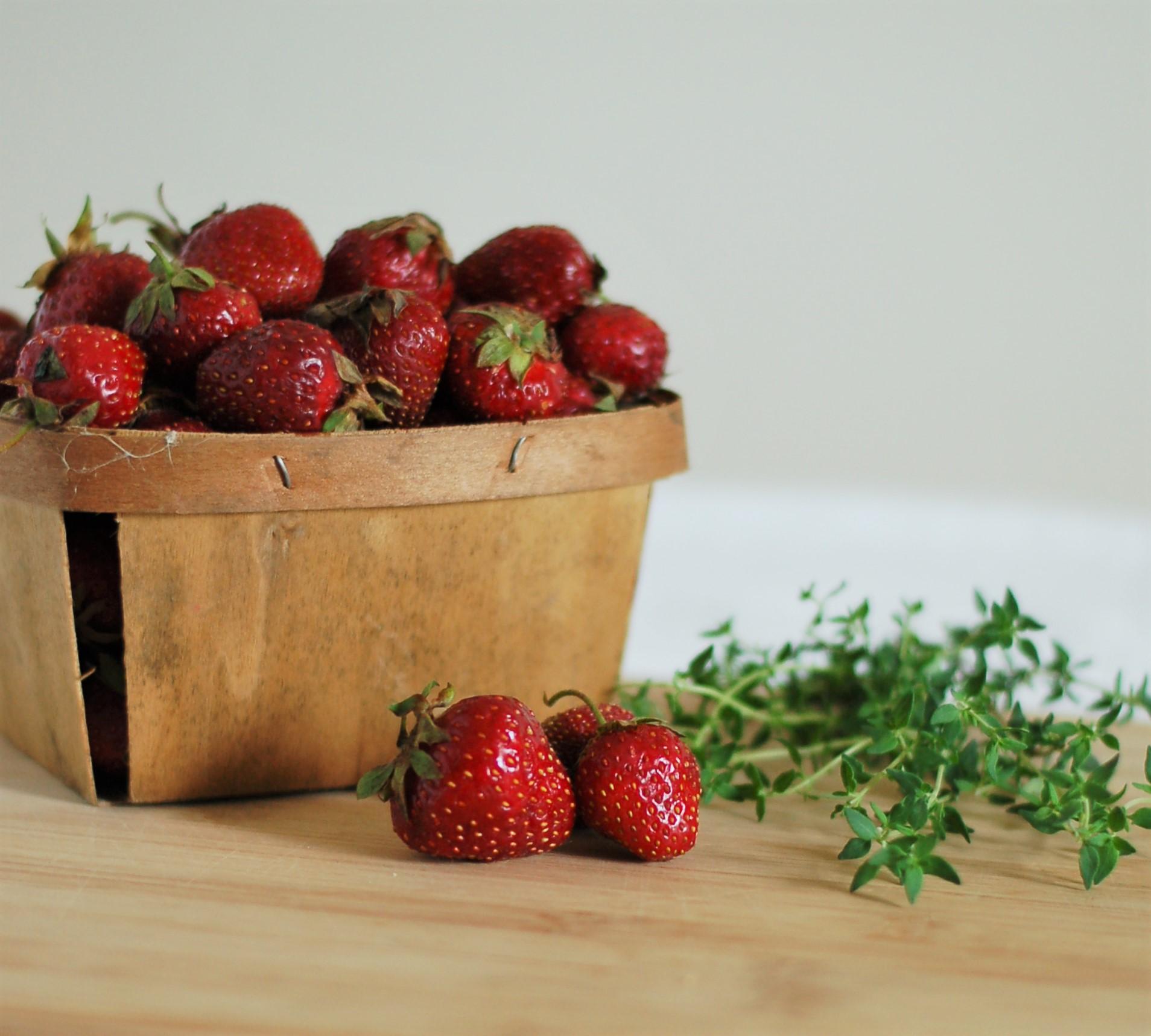 Strawberry & Thyme Jam