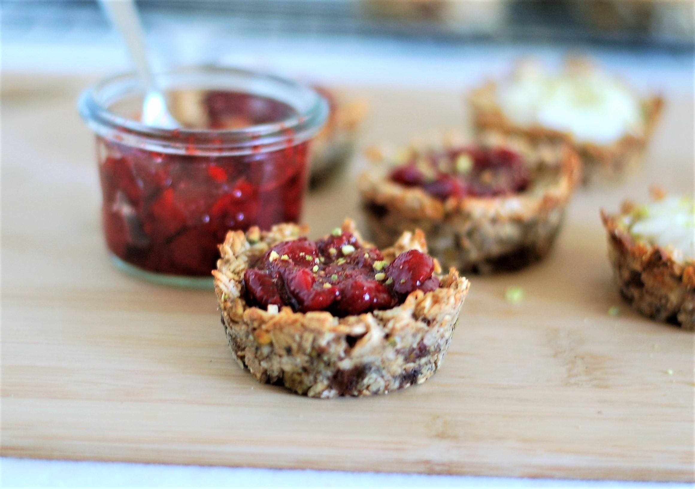Strawberry Jam Tarts