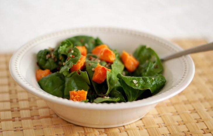 Marinated Butternut Squash Salad