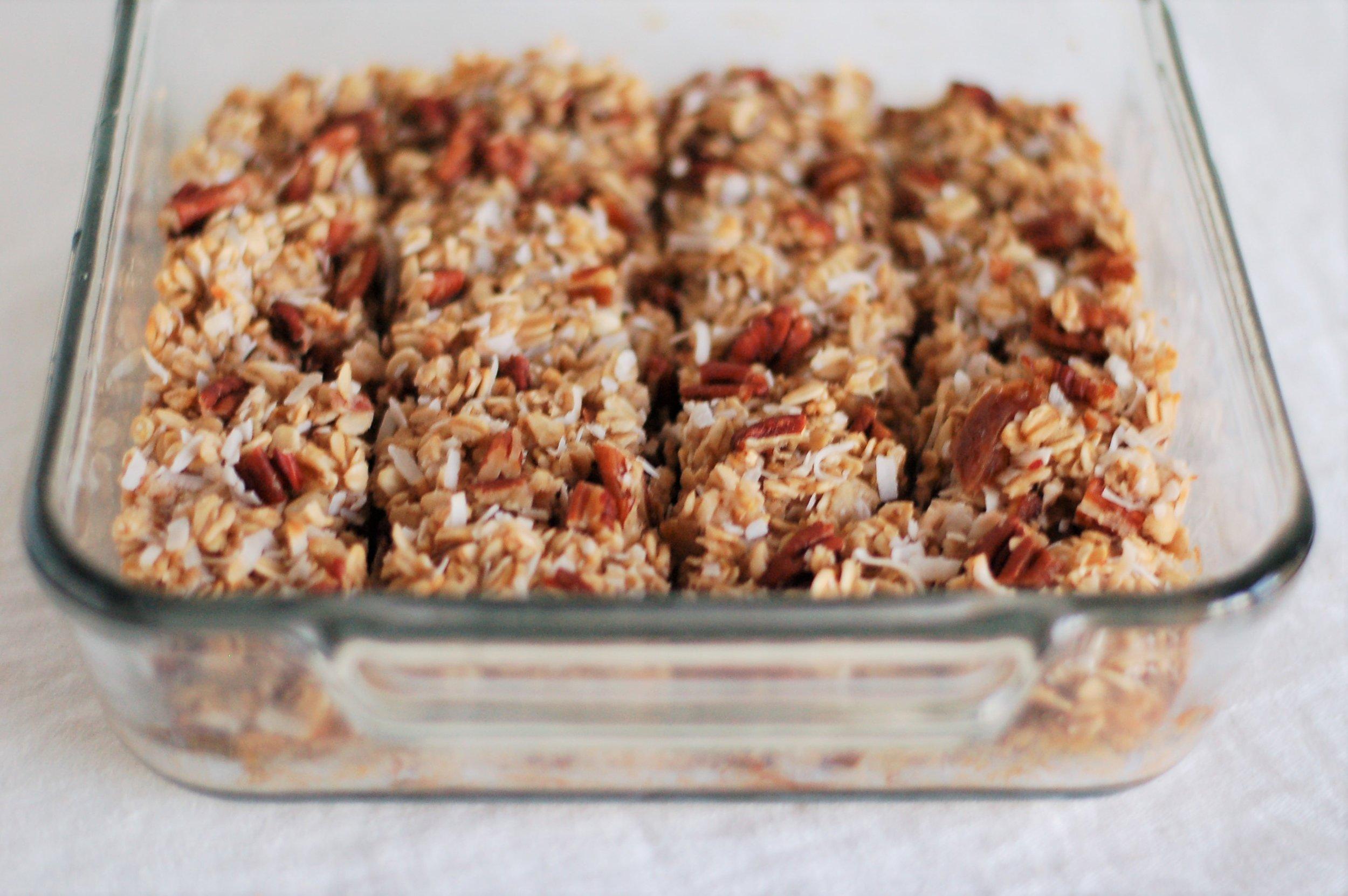 Date & Pecan Oatmeal Bake