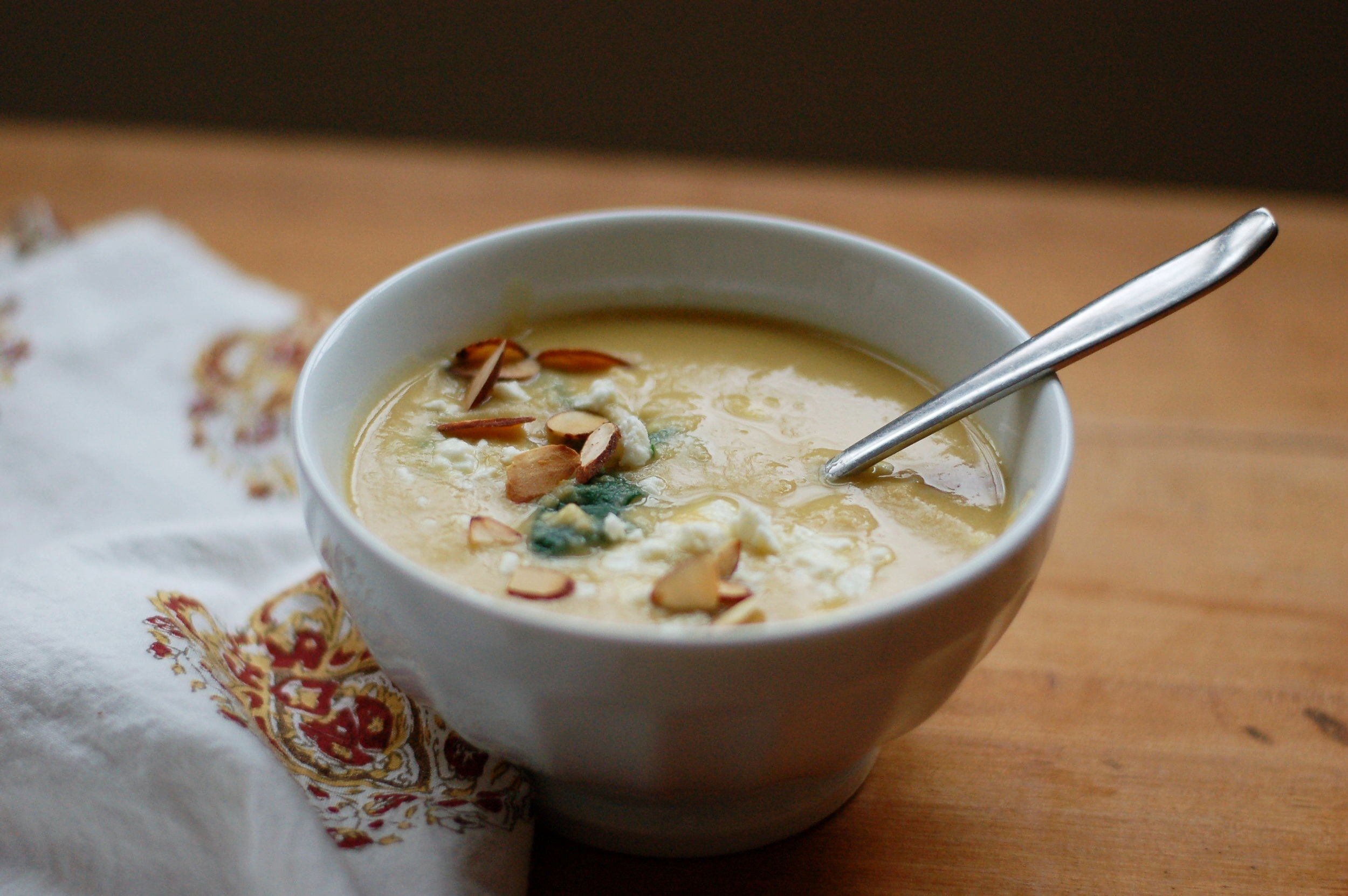 Chickpea Rosemary Soup