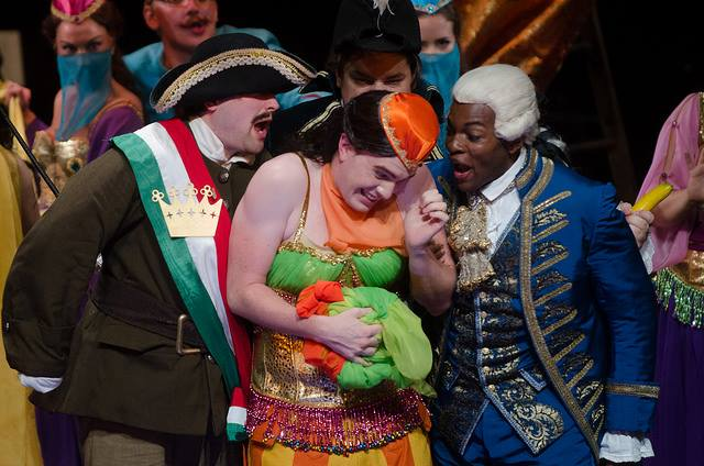 Wilhelm in  The Ghosts of Versailles with Wolf Trap Opera. (Photo credit: Kim Witman)