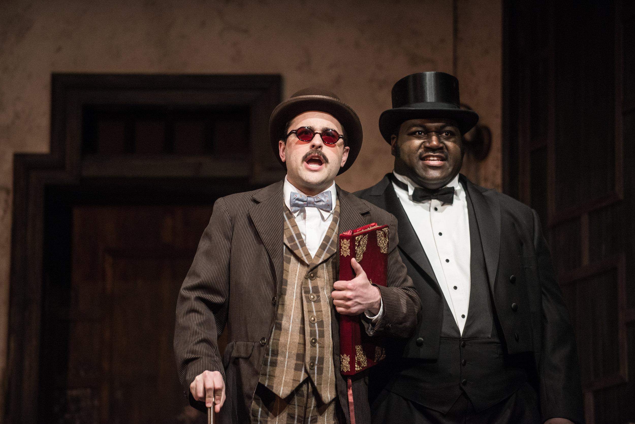 Don Curzio in  Le nozze di Figaro with Wolf Trap Opera (Photo credit: Teddy Wolff)
